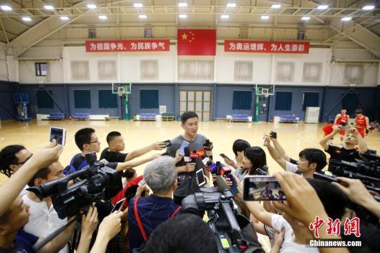 中国篮球队之队发布最新男子篮球国家队集训名册