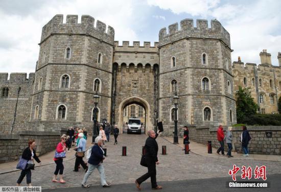 资料图:英国温莎城堡。