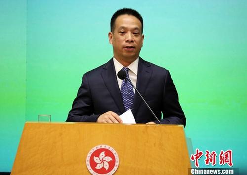 資料圖片:國務院港澳事務辦公室副主任黃柳權。
