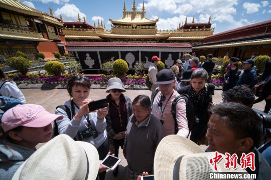 通讯:乌克兰代表团访问西藏话藏地发展
