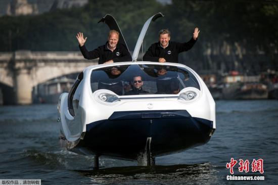 不再怕堵车?巴黎水上出租车开始测试 或于明年3月展开商业营运
