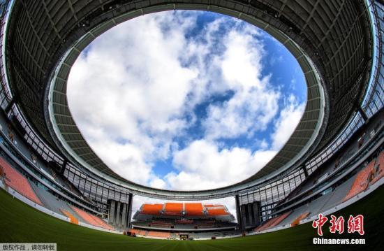 叶卡捷琳堡中央体育场。 图片来源:Osports全体育图片社 版权作品 严禁转载