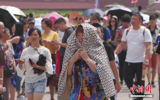 北京发布高温黄色预警 未来三天最高温将达35℃以上
