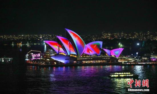 缤纷悉尼灯光音乐节将上演