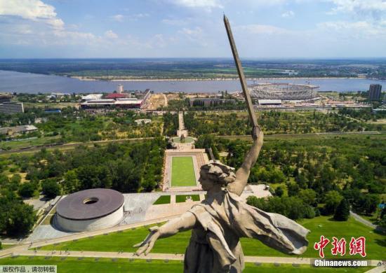 资料图:矗立在俄罗斯的一尊雕像。