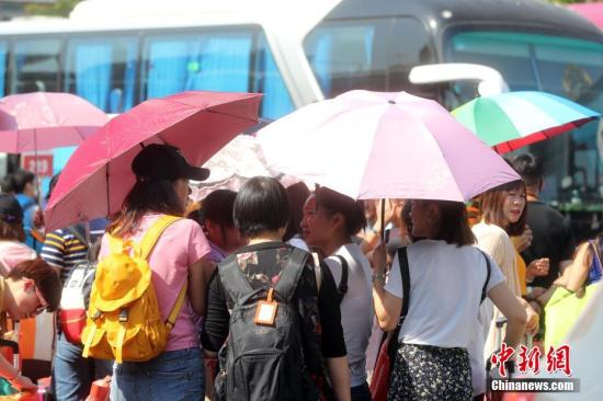 今明天北京晴热暴晒天气将持续 最高气温将达35℃