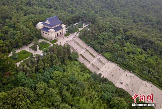 原料图:中山陵。 中新社记者 泱波 摄