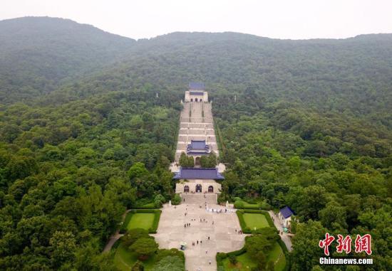 资料图:南京中山陵。 中新社记者 泱波 摄