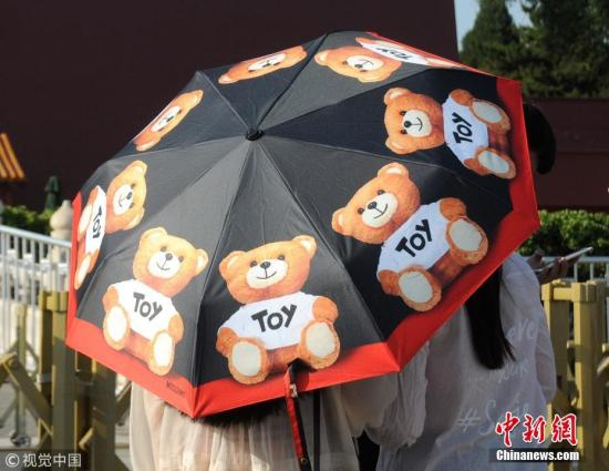 北京今日最高气温35℃ 午后阵风达六七级