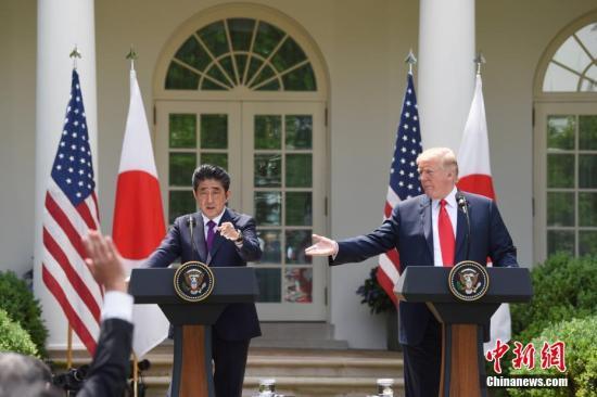 日美两国政府在美国白宫签署贸易协定 特朗普:巨大的成功