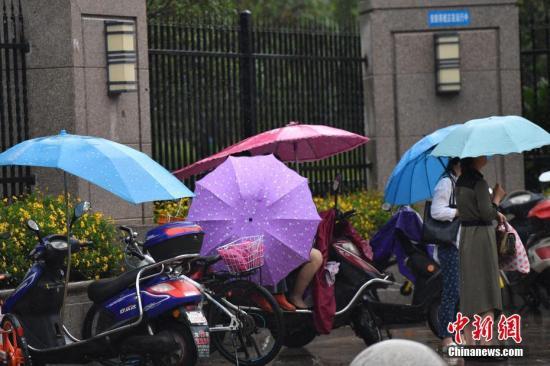 资料图:降雨。 <a target='_blank' href='http://www.chinanews.com/'>中新社</a>记者 张浪 摄