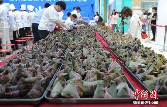 """武汉助孕粽子和速冻饺子国际标准助推中国传统食品""""走出去"""""""