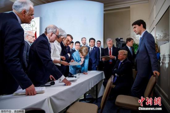美联社报道,美国先前退出巴黎气候协定和伊朗核问题全面协议招致西方盟友不满,特朗普政府加征钢铝关税让美国愈发陷入孤立,恐在峰会期间受到冷遇。