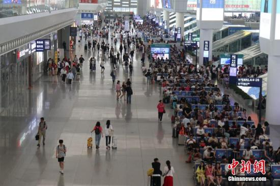 6月18日全国铁路预计发送旅客1256万人次