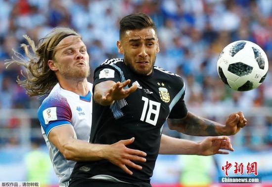 北京时间6月16日晚,2018俄罗斯世界杯d组首轮阿根廷与冰岛队的较量在