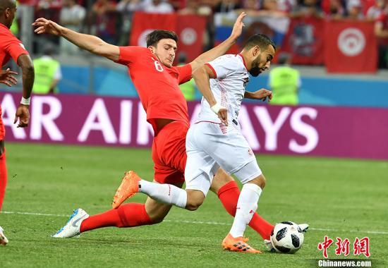 英格兰队2比1战胜突尼斯 险些为年轻买单