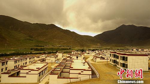 原料图:西藏那弯市尼玛县。中新社记者 江飞波 摄