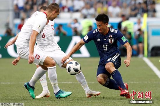 北京时间6月28日晚2018俄罗斯世界杯H组日本队与波兰队的比赛在伏尔加格勒竞技场打响。最终波兰队凭借贝德纳雷克的进球1-0战胜日本队。