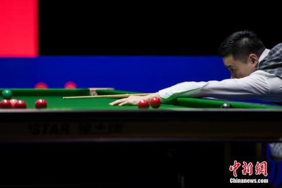 斯诺克世界公开赛:丁俊晖实现超级逆转晋级第二轮