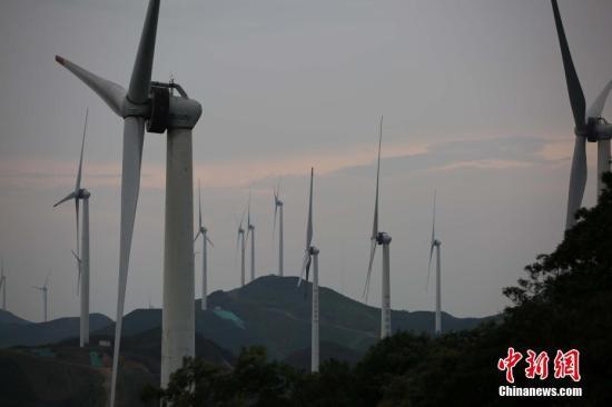 资料图:风电项目。邓和平 摄