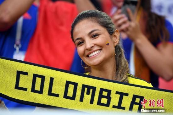 资料图片:观看世界杯的女性观众。
