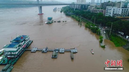 陕西大范围降水持续7条河流出现洪峰9次