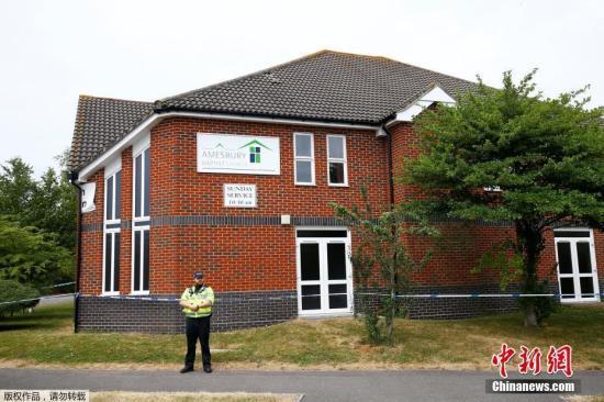 """资料图:当地时间2018年7月4日,据外媒报道,英国反恐警察4日称,他们正在协助调查威尔特郡埃姆斯伯里镇发生的""""不明物质事件""""。据报道,英国警方声明称:""""反恐网络官员正与威尔特郡警方就埃姆斯伯里事件进行合作。"""""""