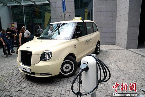 资料图:电动出租车。 /p中新社记者 彭大伟 摄