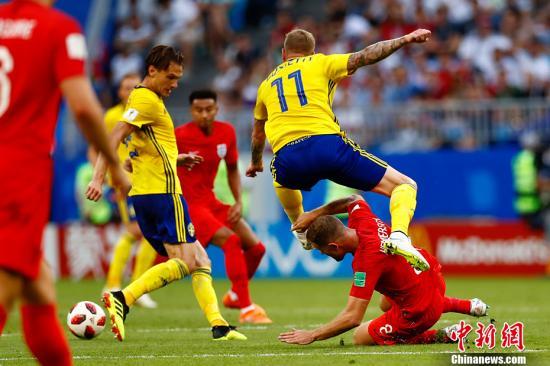 世界杯:英格兰晋级俄罗斯止步 欧洲第五