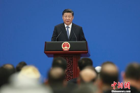 7月10日,中阿合作论坛第八届部长级会议在北京人民大会堂开幕。中国国家主席习近平出席开幕式并发表题为《携手推进新时代中阿战略伙伴关系》的重要讲话,宣布中阿双方一致同意,建立全面合作、共同发展、面向未来的中阿战略伙伴关系。<a target='_blank' href='http://www.eclecticfever.com/'>优德社</a>记者 盛佳鹏 摄