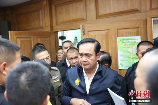 资料图:泰国总理巴育。/p中新社记者 王国安 摄