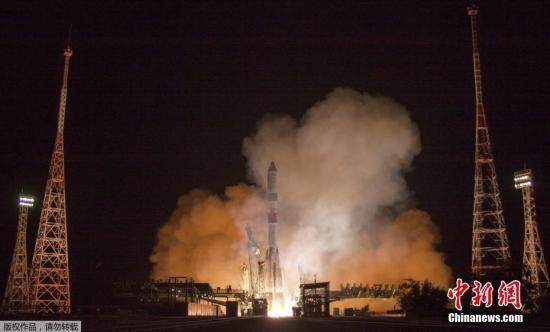 资料图:俄罗斯拜科努尔航天发射场。