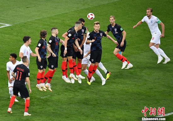 克罗地亚胜英格兰 晋级决赛迎战老牌强队法国