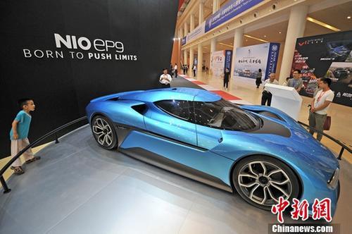 China's EV maker NIO gains big on Q3 delivery