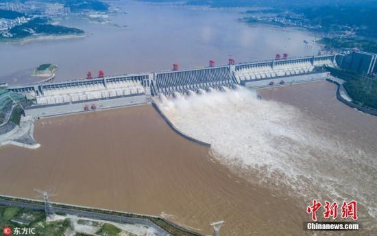 资料图:三峡大坝。林森 摄 图片来源:图片来源:东方IC 版权作品 请勿转载