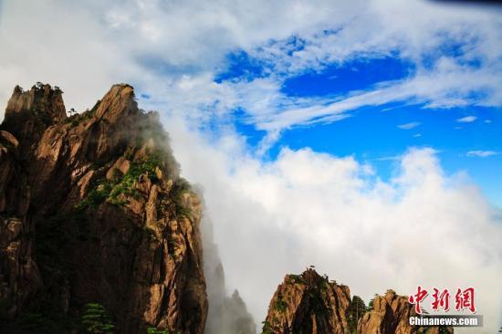资料图:安徽黄山风景区景色。叶永清 摄