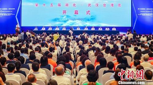 资料图:2018年7月18日,第十五届湖北・武汉台湾周在武汉开幕。记者 张畅 摄