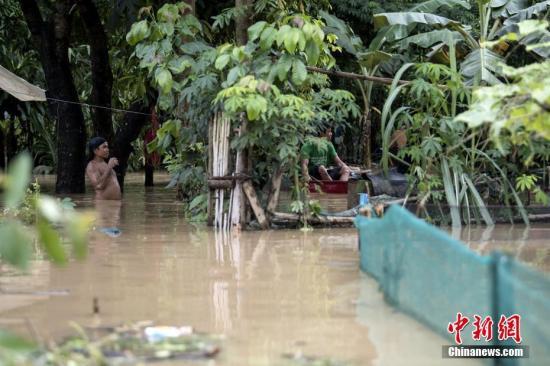 菲律宾连续降雨造成8人死亡 财产损失高达13亿比索