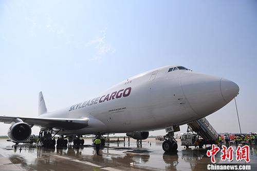 资料图:波音747飞机。 中新社记者 唐小晴 摄
