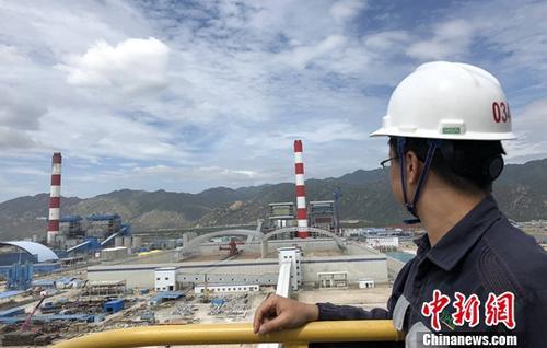"""7月26日, 中国南方电网公司宣布,中国企业在越南投资规模最大的电力项目——越南永新燃煤电厂一期BOT项目1号机组(简称""""永新一期项目"""")正式投入商业运营。(资料图)<a target='_blank' href='http://www.chinanews.com/'>中新社</a>发 蓝旺 摄"""