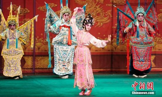 资料图:戏曲表演 <a target='_blank' href='http://www.chinanews.com/'>中新社</a>记者 杜洋 摄