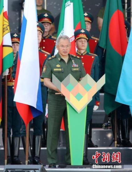 资料图:俄罗斯国防部长绍伊古。