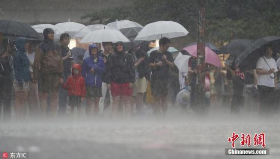 日本东京持续阴雨寡照 连续17天日照时数不足3小时(原创)