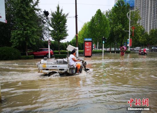 北京发布地质灾害蓝色预警 山区有泥石流、滑坡风险