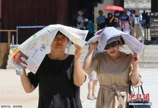 當地時間8月1日下午2時20分,根據韓國氣象廳當日發布的氣象數據,首爾氣溫達到38.8攝氏度,創下111年以來的最高值。