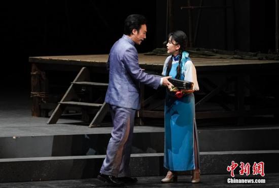 资料图:歌剧表演 <a target='_blank' href='http://www-chinanews-com.juedikj.com/'>中新社</a>记者 杜洋 摄