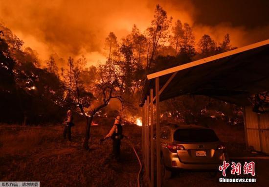 美南加州山火越烧越猛两万人撤离 华人忧