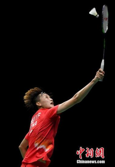 中羽赛:陈雨菲逆转韩国天才少女晋级八强