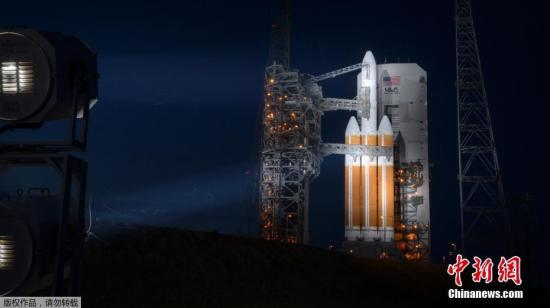 当地时间2018年8月10日,美国宇航局(NASA)将在卡纳维拉尔角空军基地发射帕克太阳探测器。