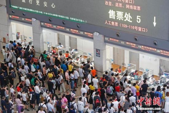 长三角铁路迎清明假期返程高峰预计发送旅客282万人次